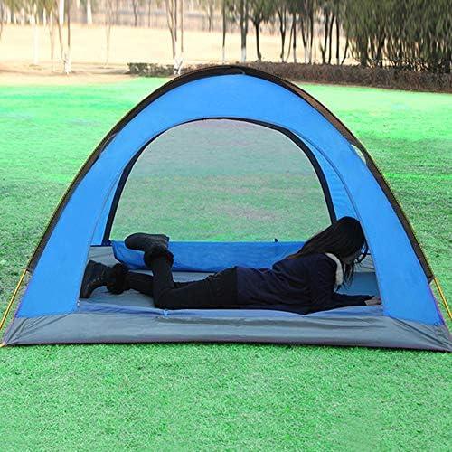 VATHJ Tienda de Acampar al Aire Libre Que acampa Doble Impermeable Plegable Tienda de Campaña Abierta Rápida Salvaje