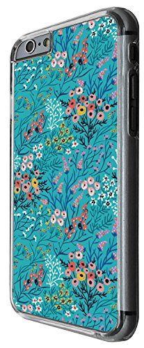 1440 - Cool Fun Trendy cute shabby chic flowers roses daisy flora Design iphone 6 6S 4.7'' Coque Fashion Trend Case Coque Protection Cover plastique et métal - Clear