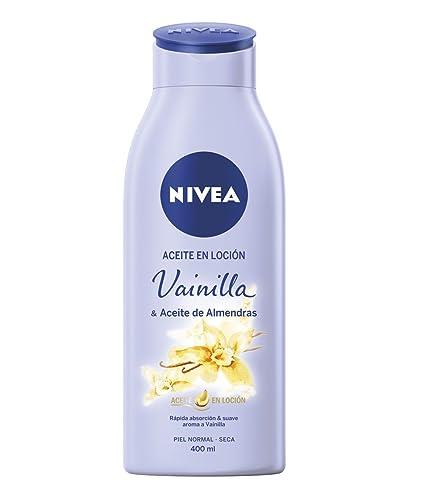 NIVEA Loción Vainilla & Aceite de Almendras - 400 ml