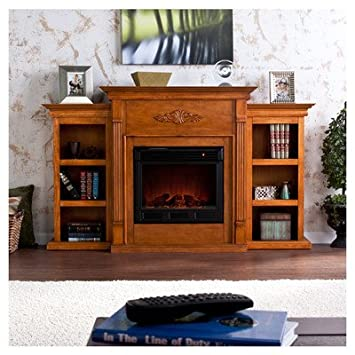 Amazon.com : Franklin Electric Fireplace : Outdoor Fireplaces ...