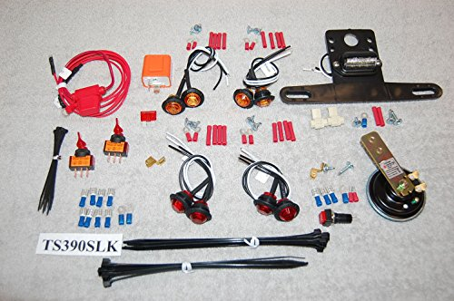 SXS/UTV STREET LEGAL TURN-SIGNAL & LED LIGHTS UNIVERSAL KIT - Signal Street Kit Led