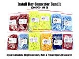 Metra Install Bay Nylon Vinyl Quick Disconnect Connectors Bundle 1200 PCS 100 EA