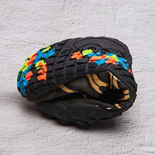 Mens Women Water Sport Shoes Barefoot Quick-Dry Aqua Socks for Beach Swim Surf Yoga Exercise, 11.5 M US Women / 10 M US Men by Z-joyee (Image #7)