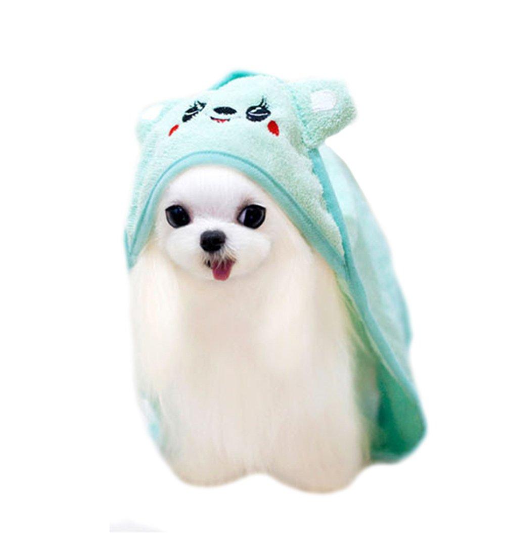 Dingang Cute Small Animal Design Absorbent Towel-Antibacterial Treatment.