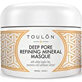 Clay Mask for Cystic Acne Kaolin Clay Mask for Face with White Kaolin Mineral Clay. Soft Pure Healing Mask with Minerals to Reduce Wrinkles, Rid Blackheads & Acne & Detox Skin - Improve Complexion for Women or Men