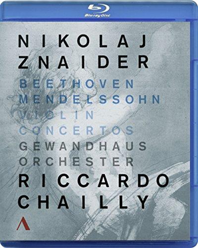 Beethoven & Mendelssohn: Violin Concertos (Blu-ray)
