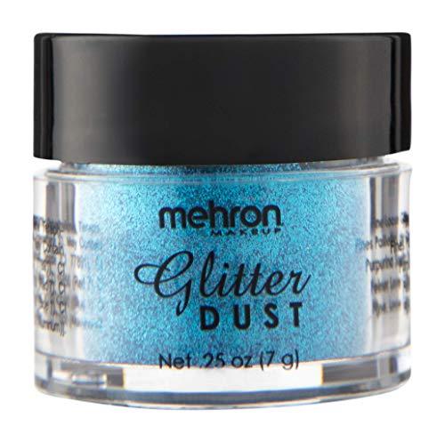 Mehron Makeup GlitterDust (.25 oz) (Deacon Blue) ()
