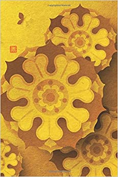 Orient Flower Wheels Notebook: 150 page Notebook Journal Diary: Volume 30 (Eastward 150)