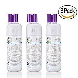 GREPUR W10295370A Refrigerator Ice & Water Filter 1 Replacement for Whirlpool W10295370 Kenmore 46-9930 9930,3pack