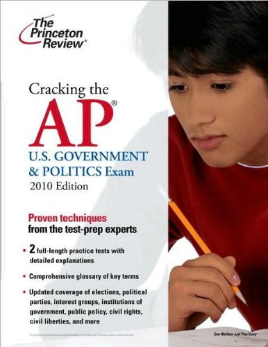 Read Online Cracking the AP U.S. Government & Politics Exam (text only) Stg edition by Princeton Review PDF