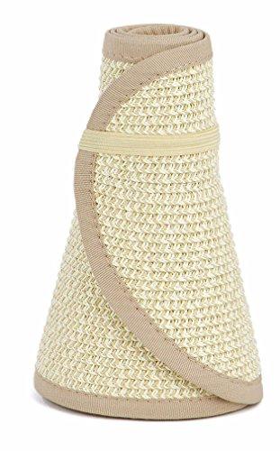san-diego-hat-company-womens-ultrabraid-visor-with-ribbon-binding-and-sweatband-multi-natural-one-si