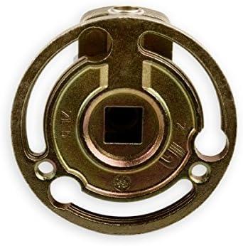 Kegelradgetriebe f/ür SW 40 Rolladen Stahlwelle im Rolladenkasten /… 6mm Innenvierkant DIWARO/® K021 Rolladengetriebe durchsteckbar Untersetzung 3:1 Rechts | Kurbelgetriebe