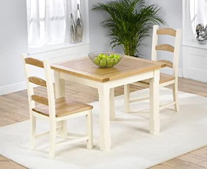 Astounding Eton Solid Pine 90Cm X 90Cm Dining Table With 2 Eton Chairs Dailytribune Chair Design For Home Dailytribuneorg