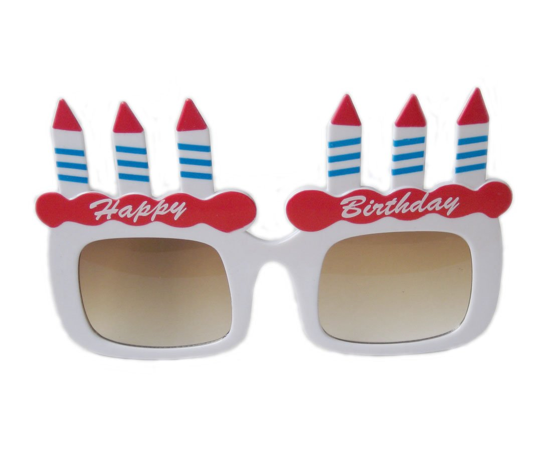 Party goods and disguise birthday sunglasses (japan import) by Ex AS