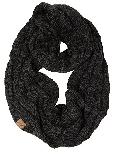 S1-6100-6206 Funky Junque Infinity Scarf - Onyx ()