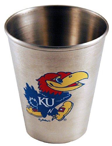 - NCAA Kansas Jayhawks Shotglass