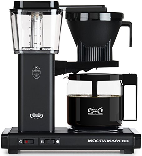 Technivorm Moccamaster 59656 Coffee Machines, 40 oz, Matte Black