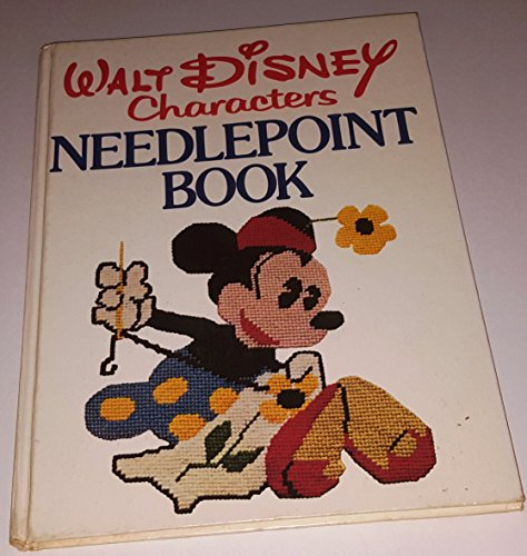 - Walt Disney characters needlepoint book: Embroideries and needlework instruction