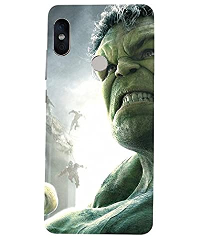 cheap for discount 8d729 b1c99 Hulk Printed Back Cover for Redmi Note 5 Pro: Amazon.in: Electronics