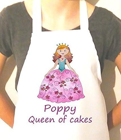 Amazon Com Personalized Poppy Princess Apron Novelty Cotton Craft