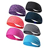 #9: Ligart Sports Hair Bands for Women Moisture Wicking Sweatbands Dry Quickly Headbands Breathable and Stretchy for Yoga,Cycling,Running,Fitness Exercise and Other Sports Workout