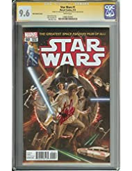 STAR WARS #1 CGC 9.6 WHITE PAGES ROSS VARIANT