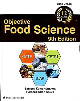 Buy Objective Food Science (9th Edition, 2019) Book Online at Low