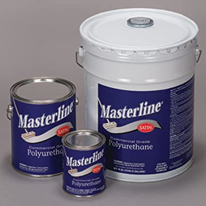 Masterline Polyurathane Semi Gloss 5 Gallon Amazon Com