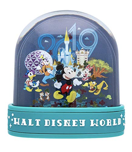 Walt Disney World 2019 Mickey Mouse and Pals Plastic Snowglobe