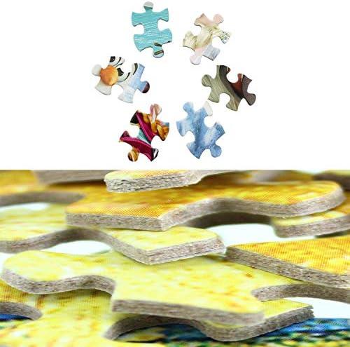ADHW Puzzles for Erwachsene 1000 Stück Kunst, Brain Challenge Puzzle for Kinder, gut for Körper und Geist, Lernspiele Spielzeug