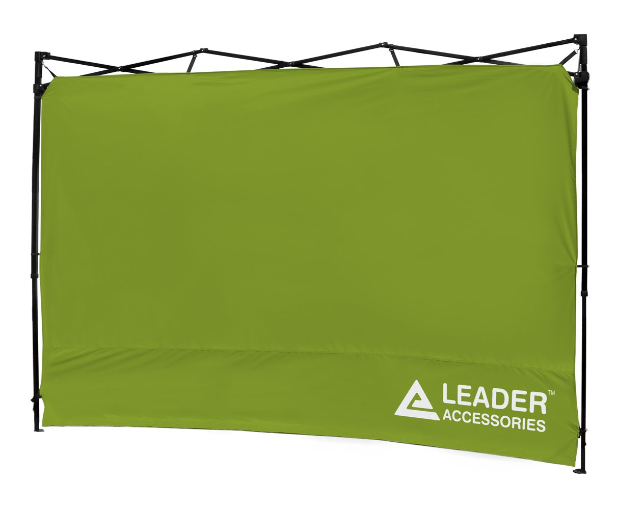 Leader Accessories 10 x 10 ft Instant Canopy Side Wall Canopy Sun Wall (Green) by Leader Accessories