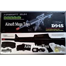 WELL 94S VA94S AEG Auto Electric M4A1 Carbine Airsoft M4 Assault Rifle, Black