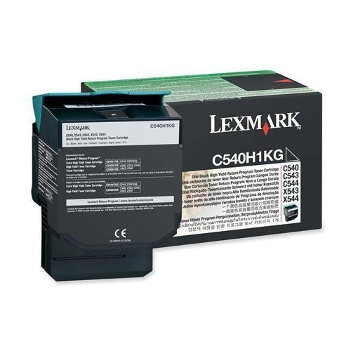 "Lexmark International, Inc - Lexmark Return High Capacity Black Toner Cartridge - Black - Laser - 2500 Page - 1 Each ""Product Category: Print Supplies/Ink/Toner Cartridges"" from Lexmark"