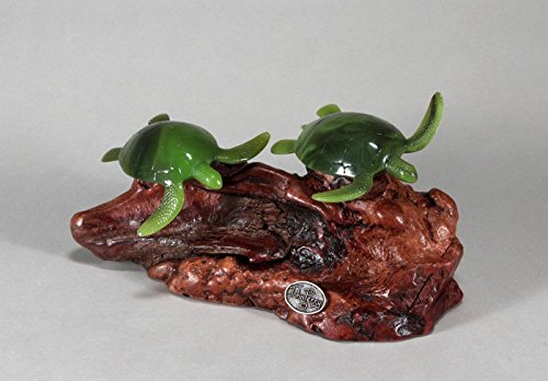 Turtle Duo Sculpture New Direct by John Perry