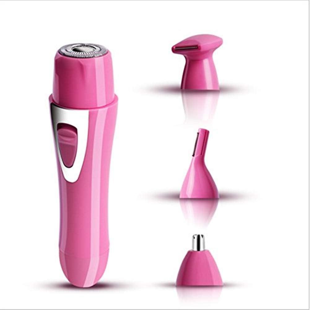 Sonew Trimmer eléctrico afeitadoras rotatorias Mujeres Hombre 4 en ...
