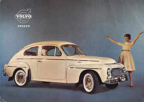 Volvo Sweden PV 544 Car Auto Advertising Vintage Postcard JA4741260