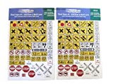 TractorFab 1/64th Scale Road Signs for Suburban areas TF325