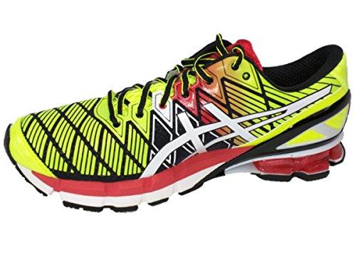 ASICS Men's Gel Kinsei 5 Running Shoes T3E4J-9001 Black/White/Red pick a best sale online C0nA9