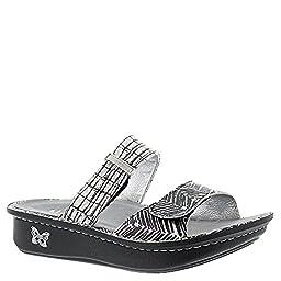 Alegria Karmen Women\'s Sandal 36 M EU Black-White