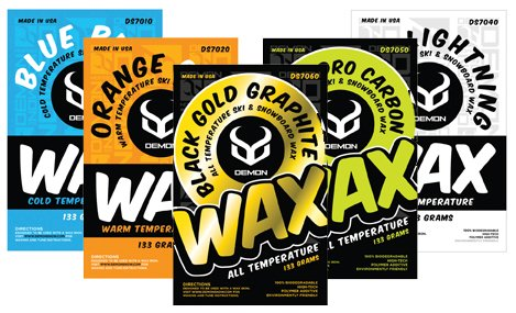 All Season Ski/Snowboard Speed Wax Kit