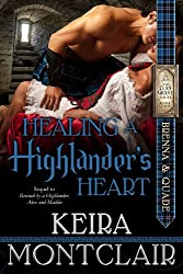 Healing a Highlander's Heart: Brenna and Quade (Clan Grant series Book 2) (English Edition)