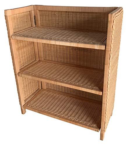 - Wicker Paradise 4404H Wicker Honey Bookcase