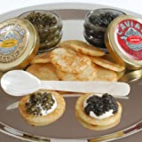Osetra and Sevruga Caviar Sampler Gift Set - without spoon