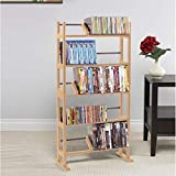 Atlantic Element Media Storage Rack - Holds Up to