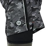 Rabrgab Mens 2-In-1 Running Shorts Nylon Liner Quick Dry Light Weight With Zipper Pocket