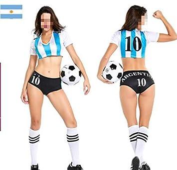 Hfjingjing 2018 Russian World Cup Cheerleading Costumes Football