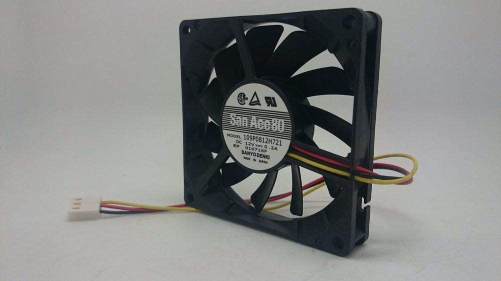 For Sanyo 109p0812h721 For Sanyo 8015 dc12v 0.2A 3-p Axial Cooling Fan