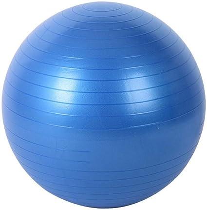 Ssery Balón de Yoga de 55 cm, balón de Pilates, para Fortalecer ...
