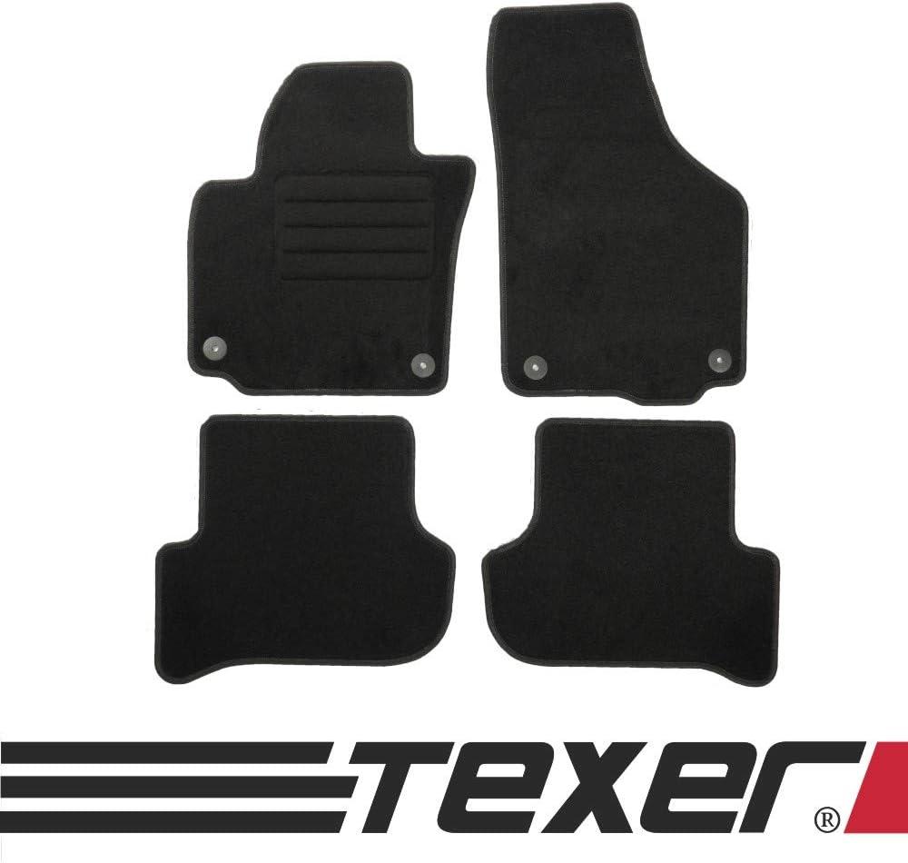 Carmat Texer Textil Fußmatten Passend Für Skoda Yeti Bj 2009 2017 Basic Auto