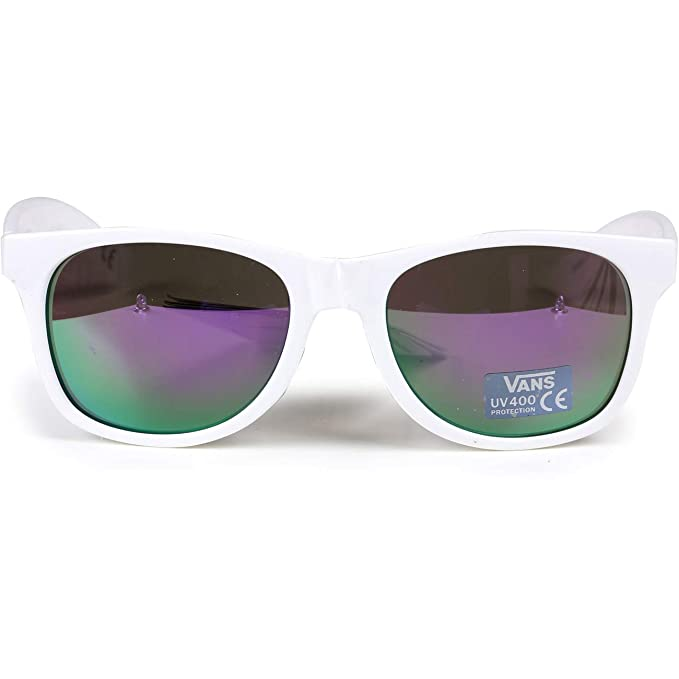 ddd6f0b1d9b Image Unavailable. Image not available for. Color  Vans Spicoli 4 Shade  Sunglasses - White Lapis Blue